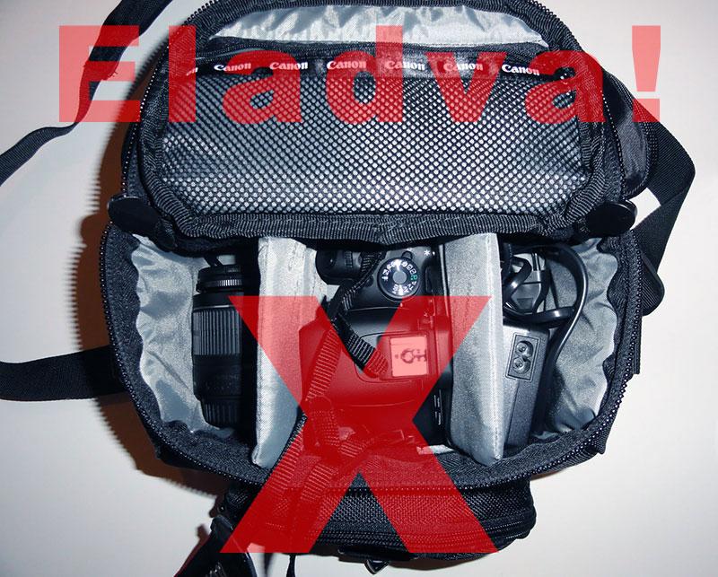 Canon Gadget Bag 100EG fotós táska INGYEN Eladó!