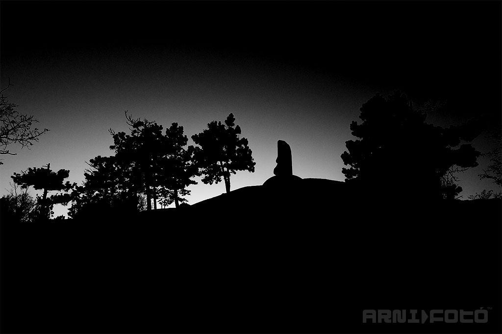 Székesfehérvár, Aranybulla Emlékmű - Csúcsos hegy