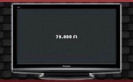 Eladó Panasonic TX-P37X10Y Plazma Tv - A legjobb képminőségért: 78.000 Ft